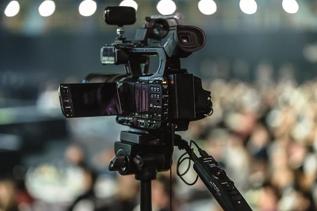 Kamera do nagrywania teleturnieju